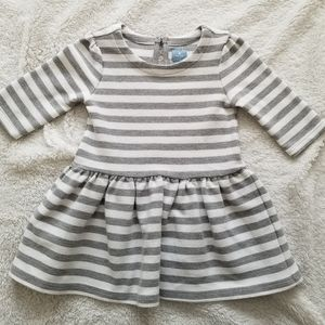 baby gap striped dress